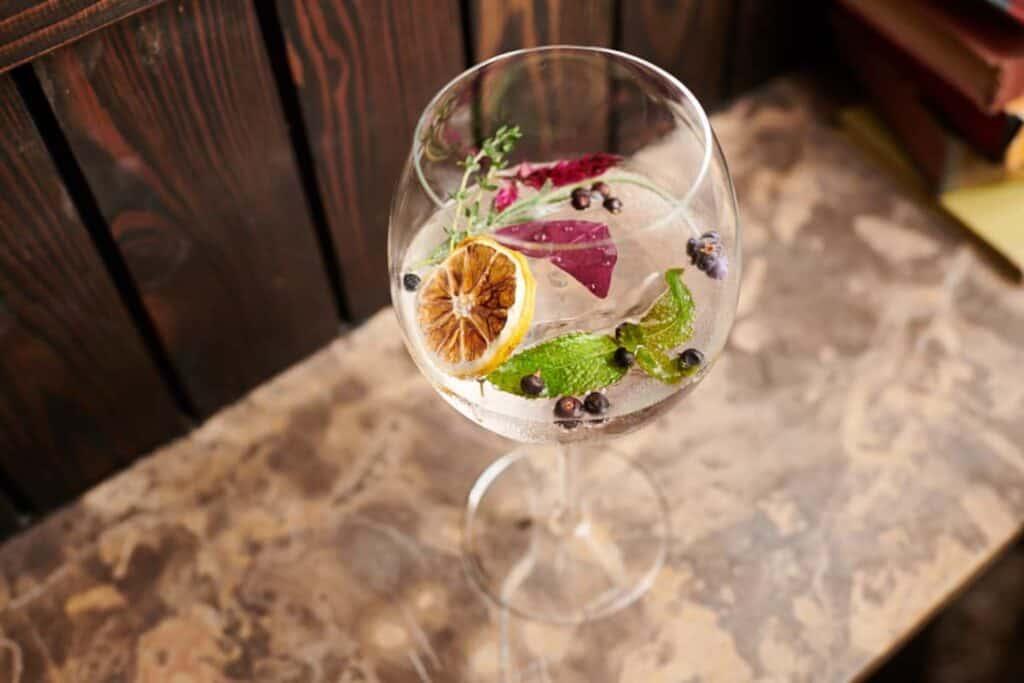 A Garden of Eden Cocktail