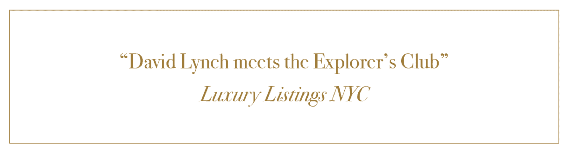 A Review from Luxury Listings NYC